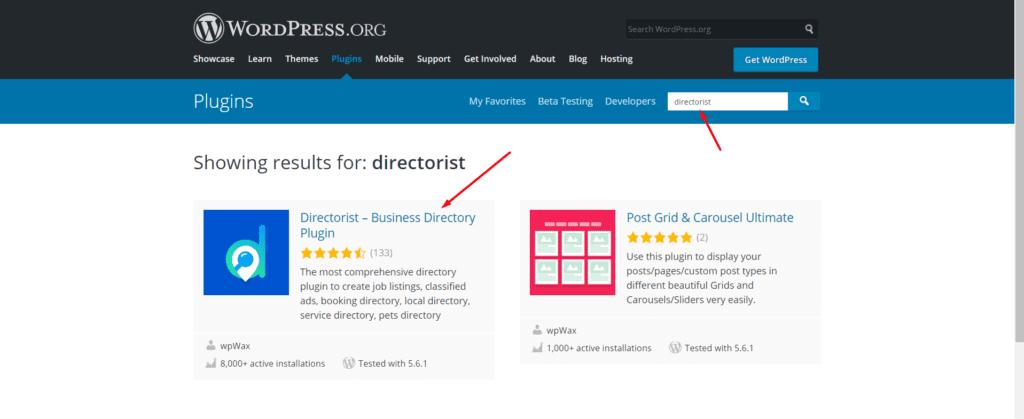 directorist in WordPress.org