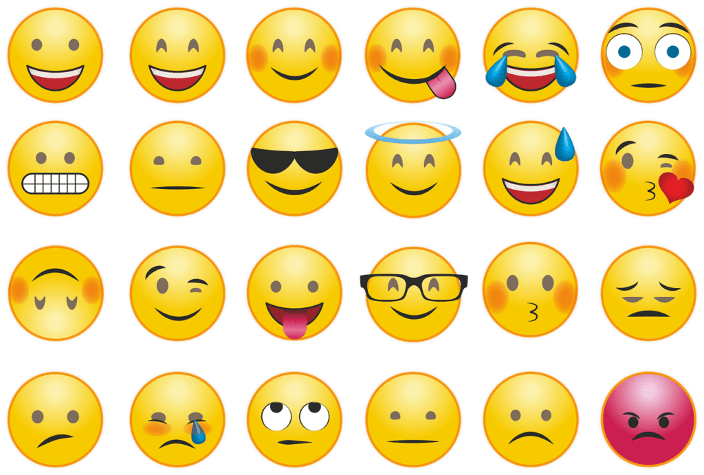 best email marketing practices - using emojis