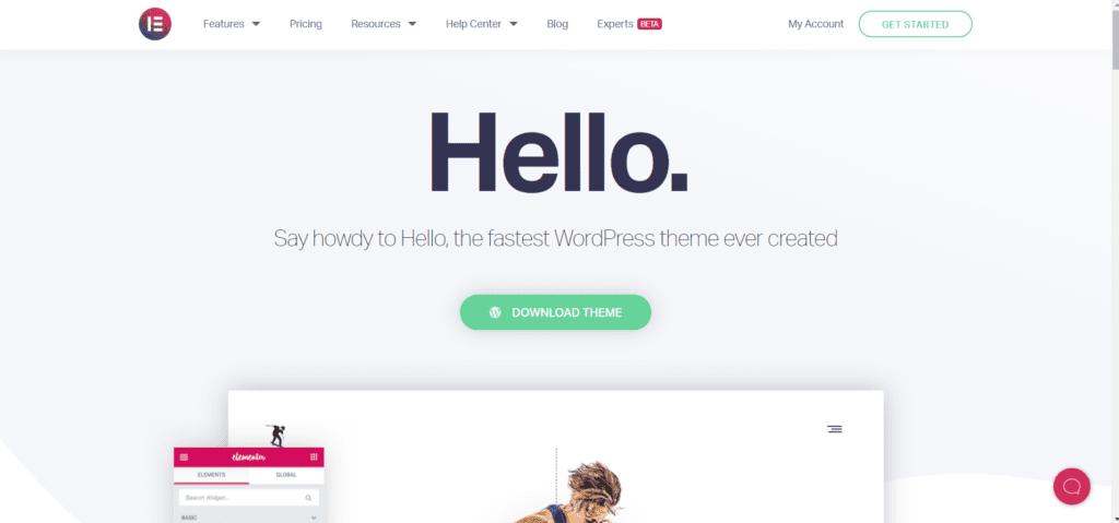 Best free directory theme WordPress - Hello