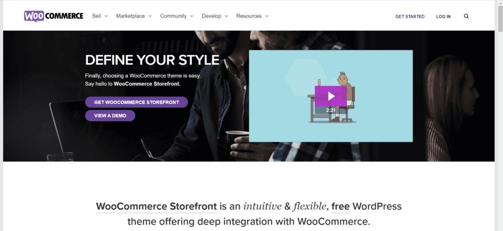 Best free directory theme WordPress - Storefront