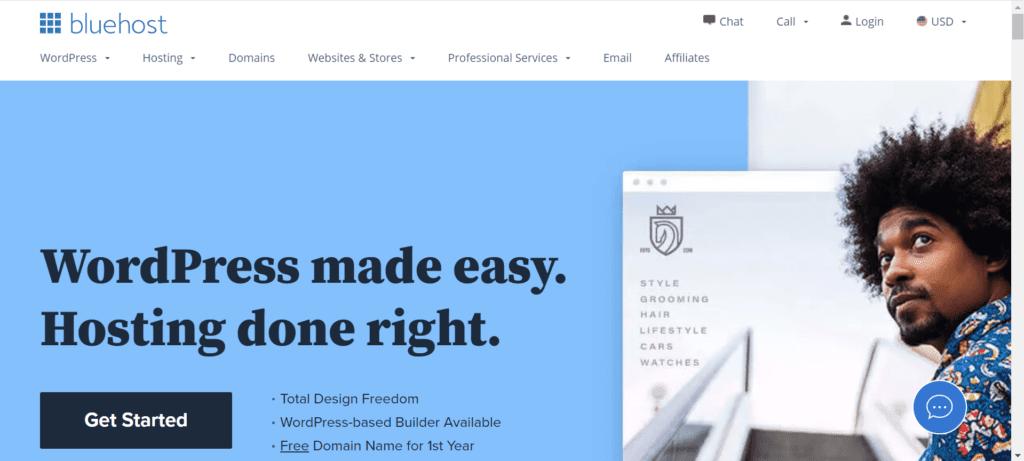 WordPress Black Friday Deals - Bluehost