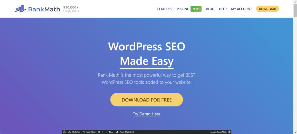WordPress Black Friday Deals - RankMath SEO
