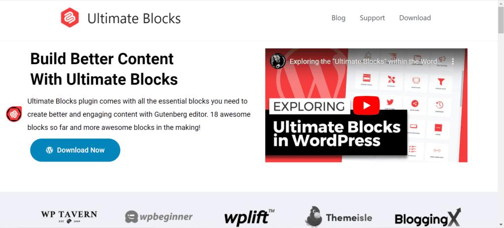 WordPress Black Friday Deals - Ultimate Blocks