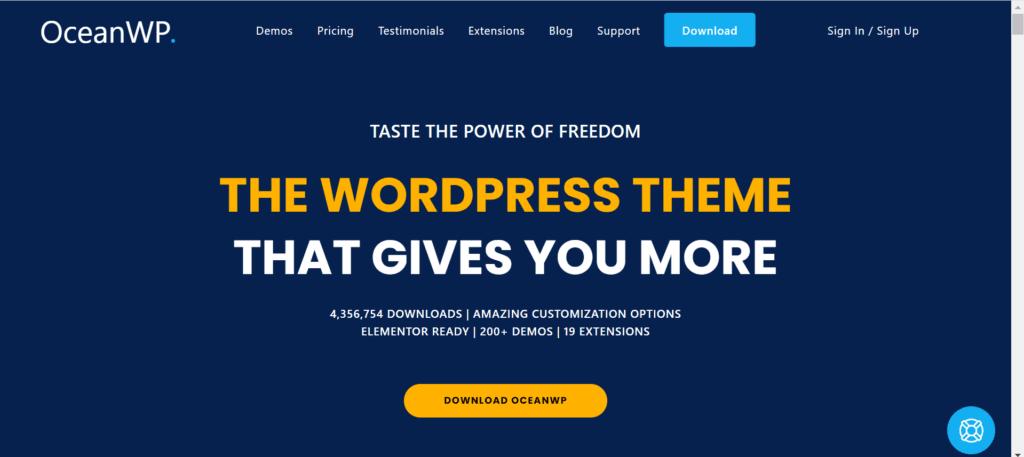 WordPress Black Friday Deals - OceanWP