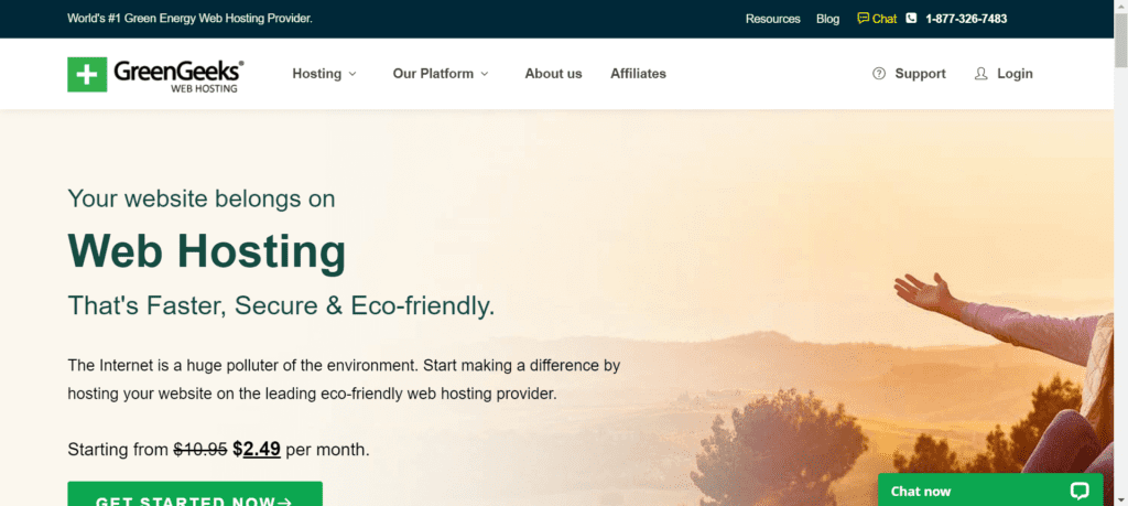 WordPress Black Friday Deals - GreenGeeks