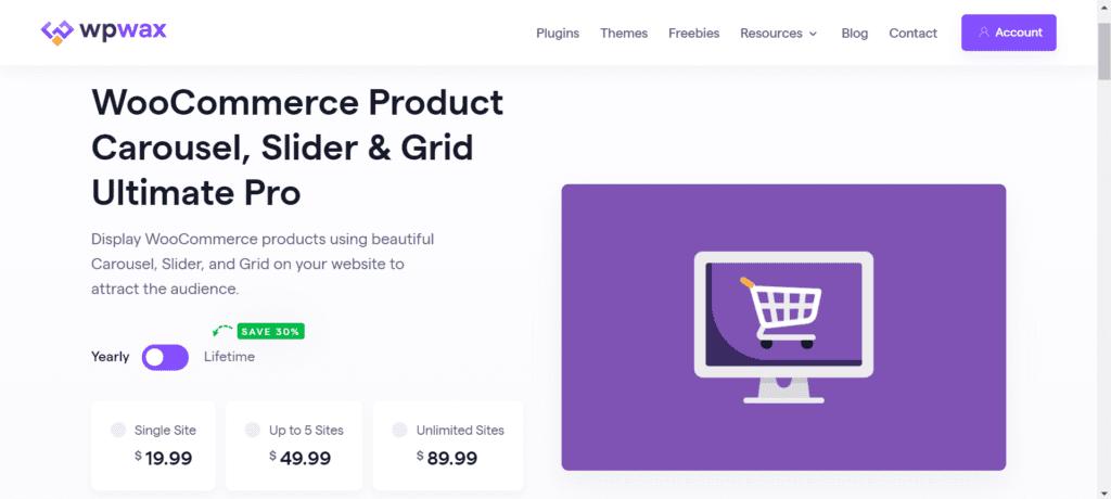WordPress Black Friday Deals - WooCommerce Product Carousel, Slider & Grid Ultimate Pro